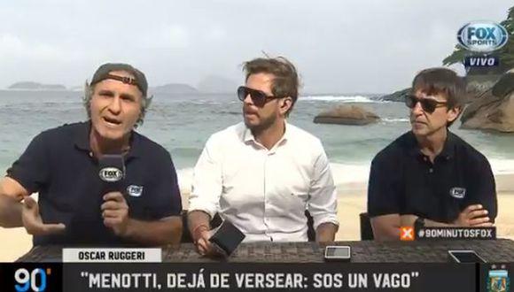 Menotti y Ruggeri se criticaron en la antesala del decisivo duelo entre Argentina y Venezuela por los cuartos de final de la Copa América, programado para este viernes.