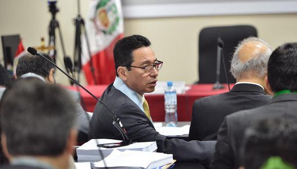 Humberto Abanto, abogado de Jaime Yoshiyama, consideró que el pedido de impedimento de salida del país para su patrocinado es apresurado. (Foto: GEC)