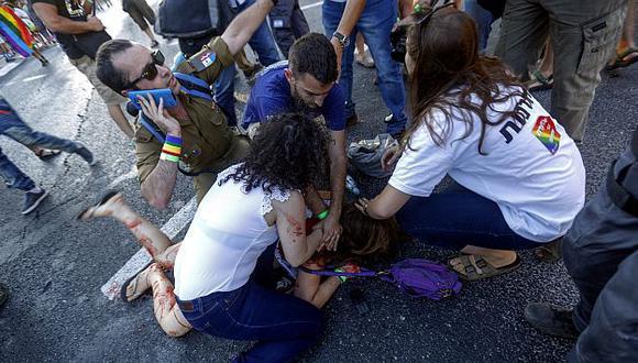 Seis policías serán despedidos tras crimen de joven en marcha del Orgullo Gay en Israel. (EFE)
