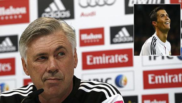 Carlo Ancelotti está seguro que Cristiano Ronaldo ganará el Balón de oro este año. (EFE)