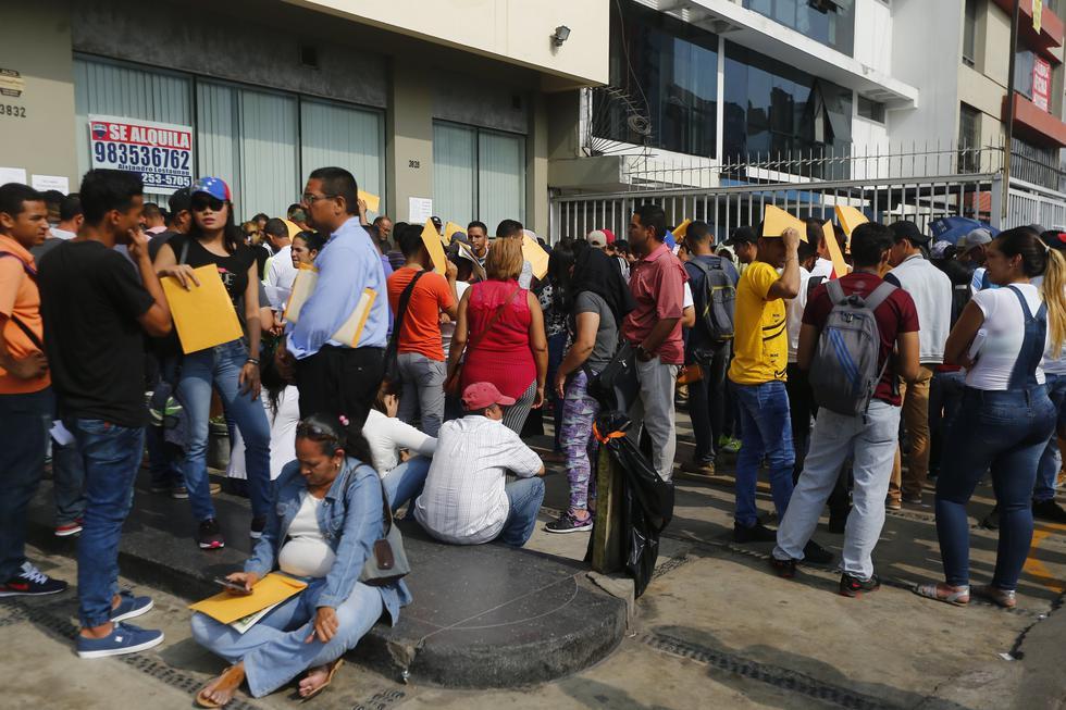 Venezolanos en Lima (Perú21)