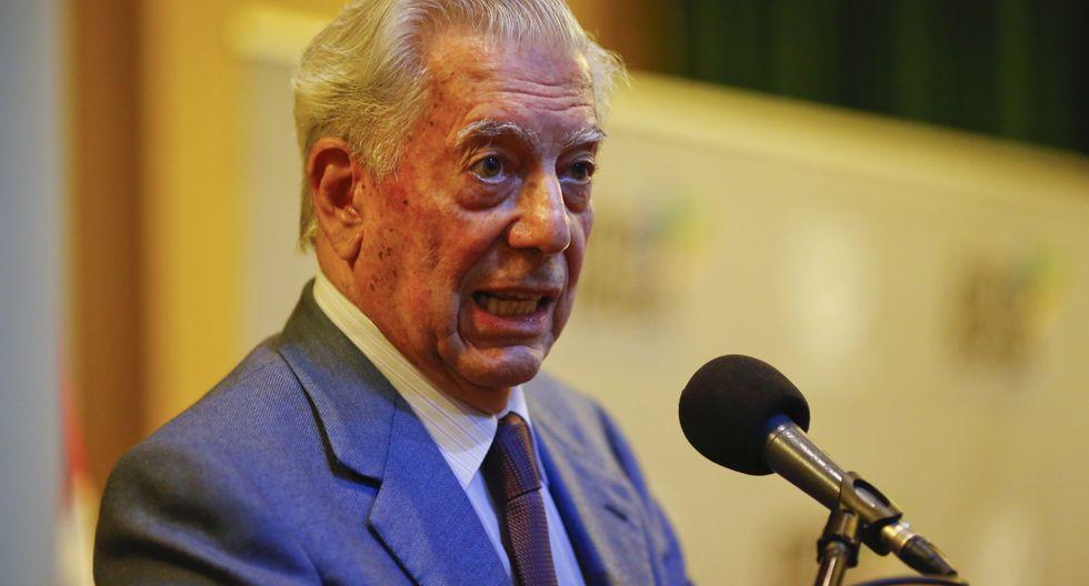 El escritor de 82 años se dirigió a la comunidad internacional. (Foto: GEC)
