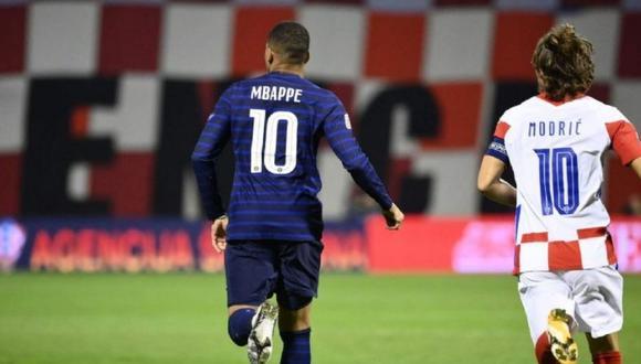 Kylian Mbappé tuvo gesto con figura de Real Madrid tras duelo con Croacia.