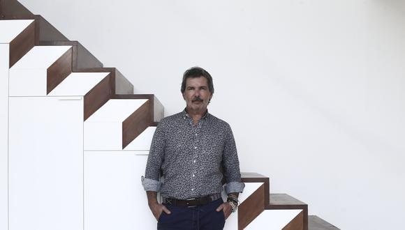 Jordi Puig, arquitecto peruano formado entre Lima y Barcelona. (FOTO: JESUS SAUCEDO / GEC)