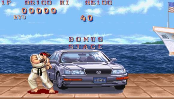 'Street Fighter II': Recrean el famoso 'Bonus Stage' en realidad virtual. (Difusión)