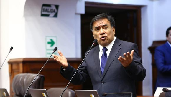 El congresista aprista resaltó que no hay cuestionamientos a las hojas de vida de los postulantes al TC. (Foto: Congreso)