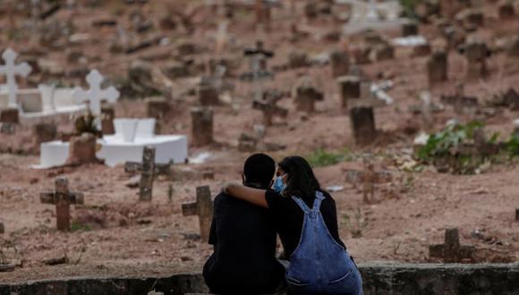 Cifra de decesos en el Perú a causa del COVID-19 aumentó este martes . (Foto: Referencial/EFE/Antonio Lacerda/Archivo)