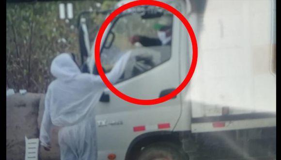 Ica: caen cuatro adolescentes por cobro de cupos a transportistas con el pretexto de la fumigación (Foto: PNP)