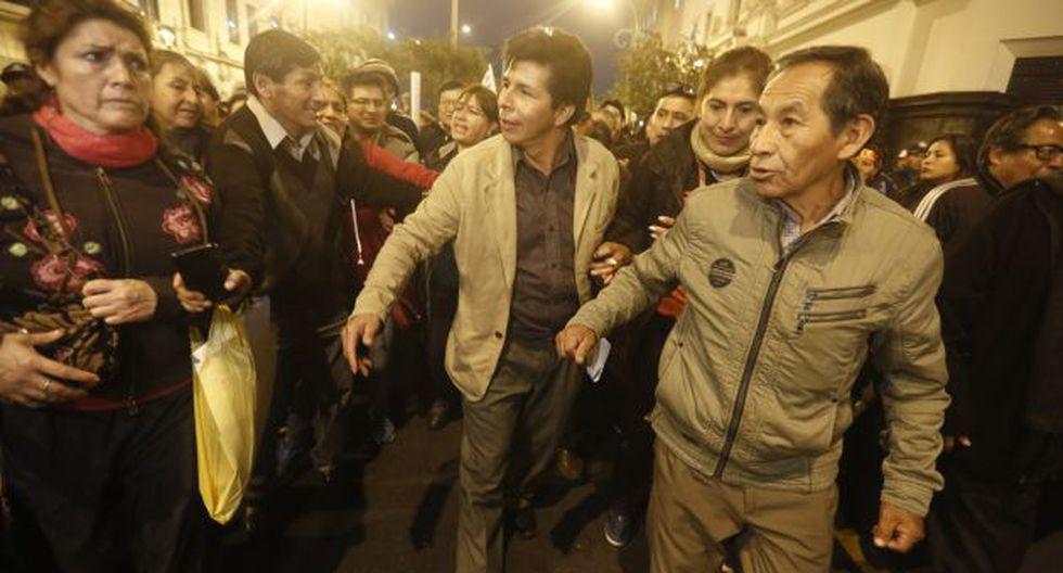 Castillo ha liderado la huelga de maestros en Lima.