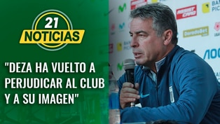 "Bengoechea: ""Deza ha vuelto a perjudicar al club y a su imagen"""