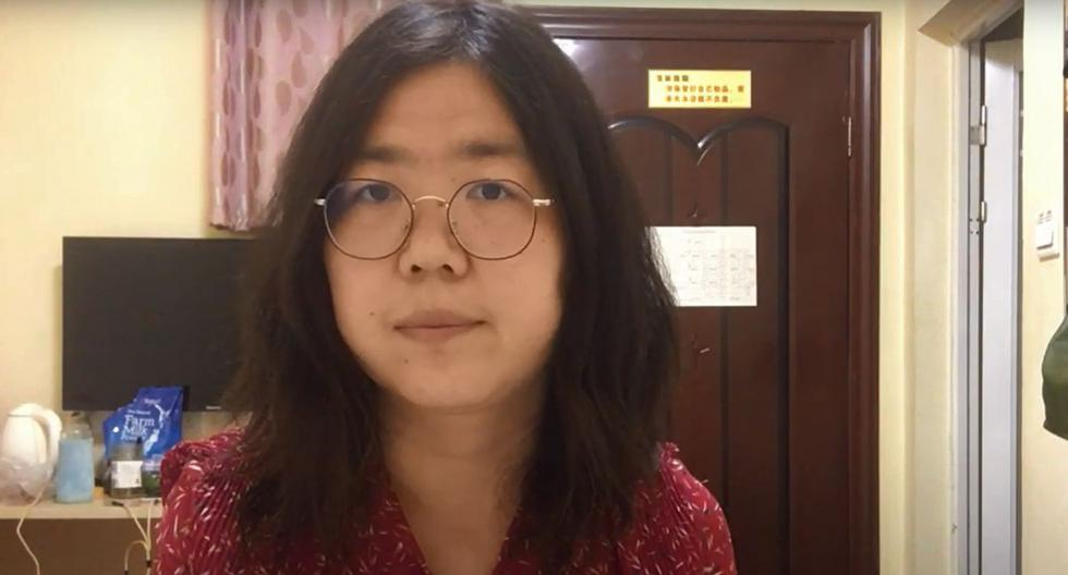 Zhang Zhan viajó en febrero a Wuhan, en aquel momento epicentro de la pandemia de coronavirus, y divulgó en redes sociales reportajes, la mayoría sobre la caótica situación que atravesaban los hospitales. (AFP).