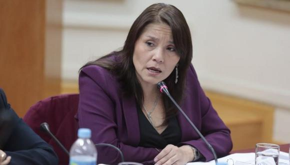 La ministra Paola Bustamante señaló el último martes que sin la reforma política el país no podía avanzar. (Foto: GEC)