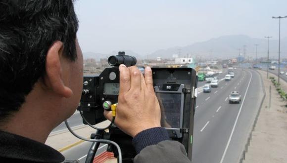 Se instalarán cinemómetros en nueve puntos críticos. (USI)