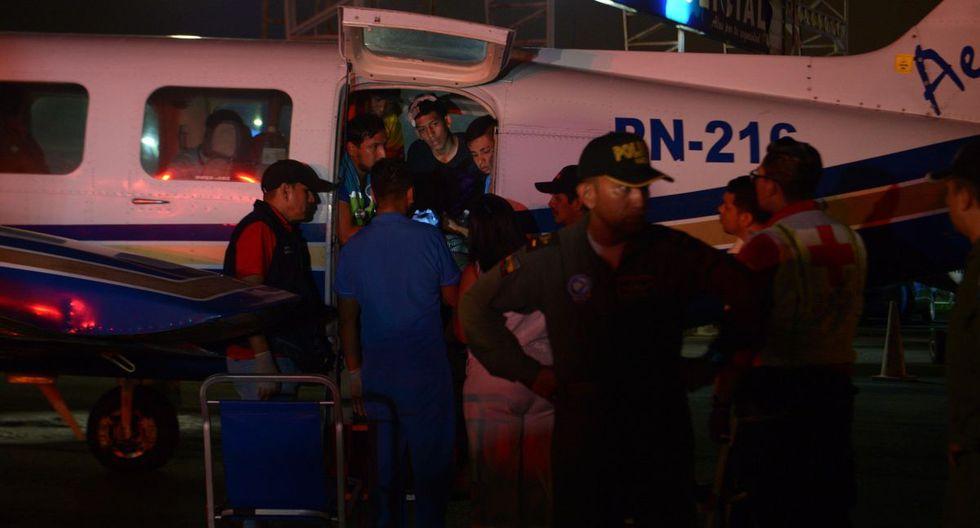 Fuentes policiales indicaron que se trata de heridos leves que han sido trasladados desde la ciudad de Piura, en el norte peruano. (EFE)