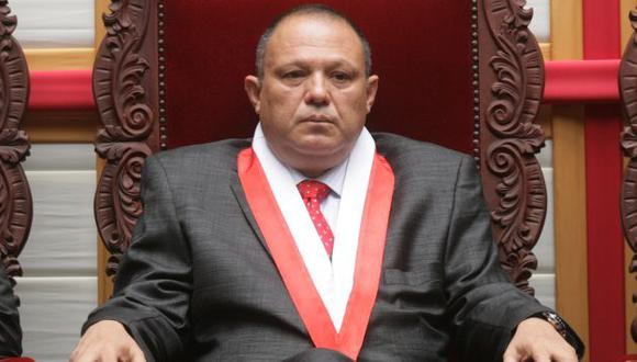 Magistrado del TC Carlos Mesía denunciará al Estado ante la CIDH. (César Fajardo)