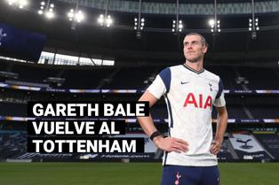 Tottenham hace oficial el regreso de Gareth Bale, cedido a préstamo por el Real Madrid