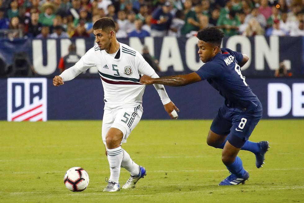 Estados Unidos derrotó 1-0 a México por el clásico de la Concacaf en Tennessee. (AFP)