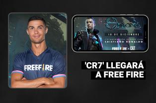 Cristiano Ronaldo se suma a Garena Free Fire como nuevo personaje