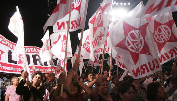 Los apristas sacarán a corruptos de su partido. (R. Cáceres)