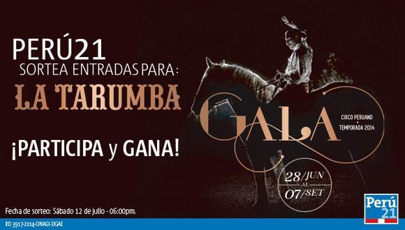 Perú21 te invita a vivir la magia de La Tarumba