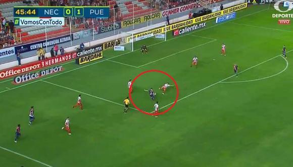 Alejandro Chumacero anotó su primer gol en el Apertura 2018 de Liga MX. (Captura: YouTube)
