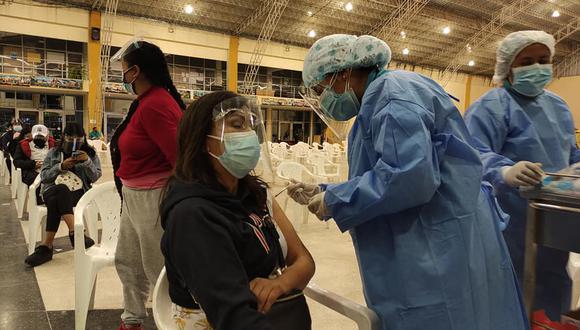 La cobertura de vacunación contra el COVID-19, con ambas dosis, es de 50,4% en Junín, según el registro del Ministerio de Salud. (Foto: Diresa Junín)