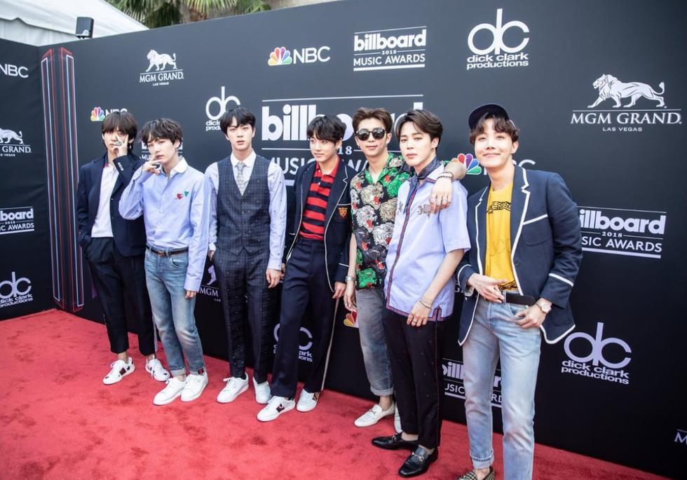 Ídolos del K-pop estrenarán el tema 'Fake love' en la ceremonia de los Billboard 2018. (Getty)