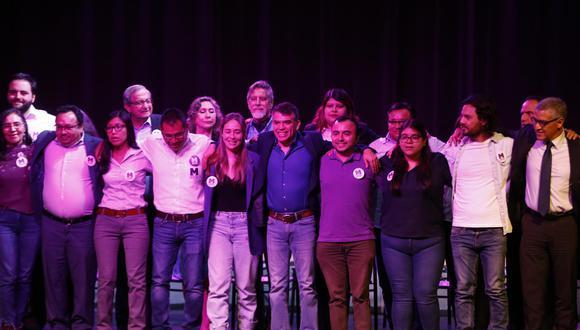 El Partido Morado y el movimiento Fuerza Ciudadana suscribieron un acuerdo en el marco de las próximas elecciones. (Foto: GEC)