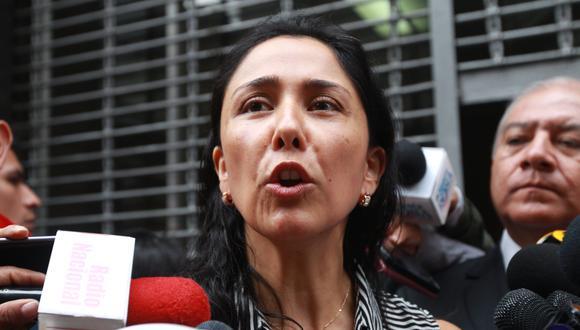 Juez dictó 18 meses de impedimento de salida contra Nadine Heredia. (Anthony Niño de Guzmán / GEC)