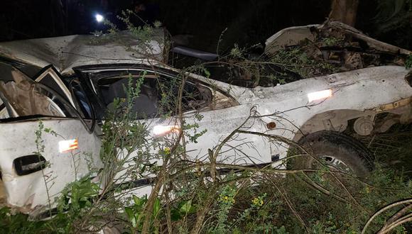 Cusco: Vehículo cae por abismo de 200 metros y deja dos fallecidos (Foto: PNP)