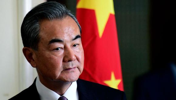 """El canciller chino,  Wang Yi, exhorto a Estados Unidos a """"no abusar de la fuerza"""". (AFP)"""