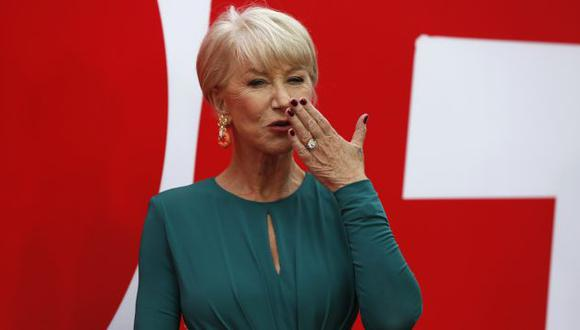 Helen Mirren se confesó para Cinescape. (Reuters)