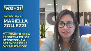 """Mariella Zollezzi: """"El impacto de la pandemia en los negocios va a depender de la digitalización"""""""