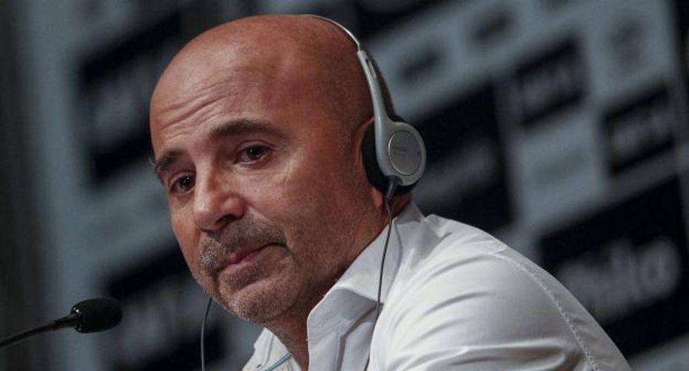 Jorge Sampaoli firmó contrato por dos temporadas con Santos. (Foto: AFP)