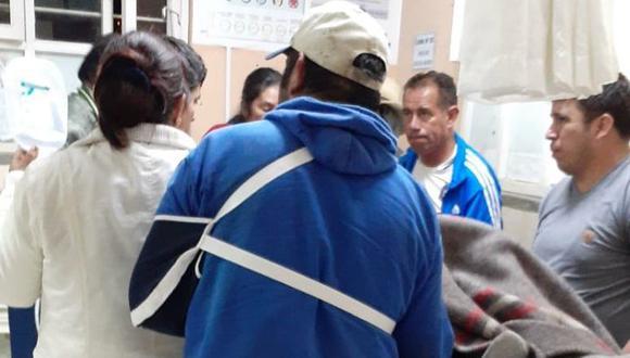 Heridos fueron llevados a Celendín y al Hospital Regional de Amazonas. (El Clarín Amazonas)