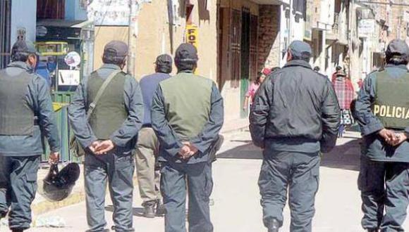 Nueve policías peruanos fueron retenidos en base militar de Bolivia. (El Deber/ Imagen referencial)