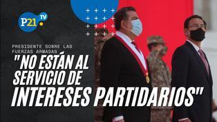 Presidente Vizcarra preside ceremonia por el Día de las Fuerzas Armadas