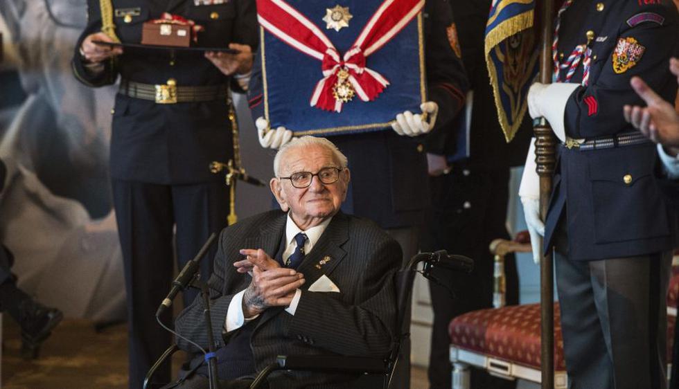 Nicholas Winton, el británico que salvó a 699 niños del Holocausto. (EFE)