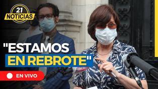 "Pilar Mazzetti: ""Estamos en rebrote"""