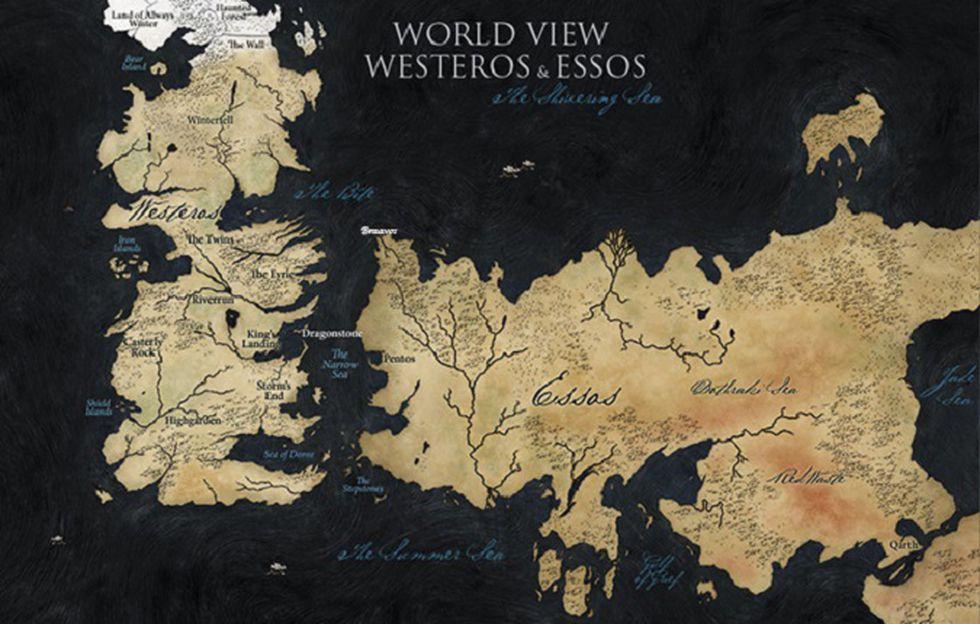 Arya planea viajar más allá de los mapas de Westeros (Foto: HBO)