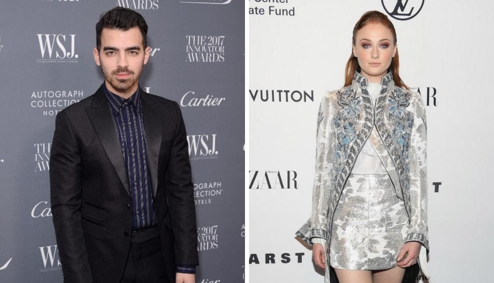 "Sophie Turner deja atónito a Joe Jonas al abrazar a su expareja de ""Game of Thrones"" (Fotos: AFP/Instagram)"