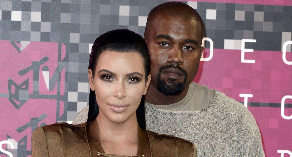 Kanye West sorprende al revelar la carrera que estudia Kim Kardashian. (Foto: EFE)