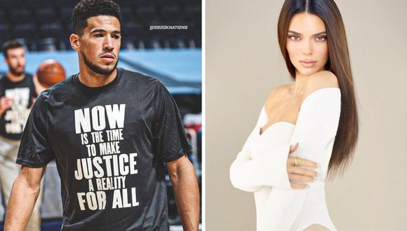 La relación entre Kendall Jenner y Devin Booker parece confirmarse con las fotografías que compartieron ambos en sus redes sociales. (Foto: Instagram / @kendalljenner / @dbook).