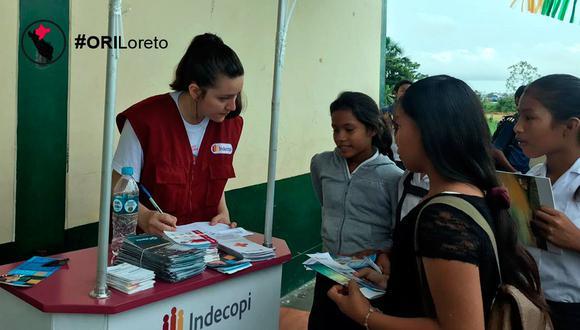 Indecopi da a conocer los derechos de los consumidores a los habitantes de Iquitos. (Indecopi)