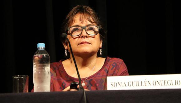 Sonia Guillén juró como nueva ministra de Cultura el 7 de diciembre del año pasado. (Foto: Biblioteca Nacional)