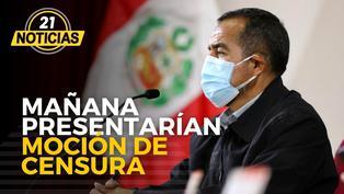 Mañana presentarían moción de censura en contra de Iber Maraví