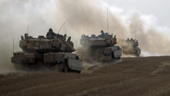 Israel retiró todas sus fuerzas terrestres de la Franja de Gaza antes de la entrada en vigor. (EFE)