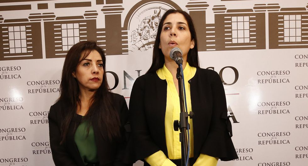 Alejandra Aramayo y Úrsula Letona dejaron de ser voceras de Fuerza Popular. (Piko Tamashiro)