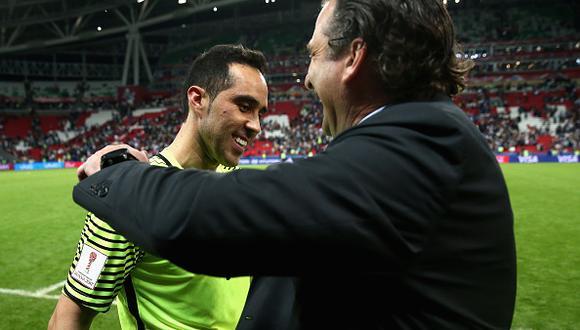 Los dos fueron partícipes de la época dorada del fútbol chileno. (Getty Images)