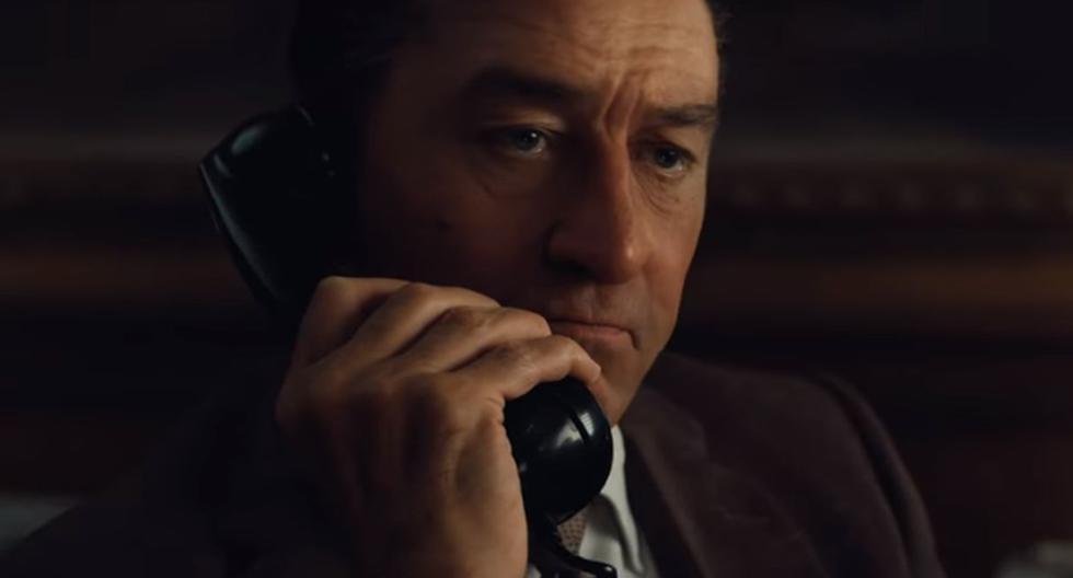 """Robert de Niro y Al Pacino protagonizan el tráiler de """"The Irishman"""". (Foto: Netflix)"""